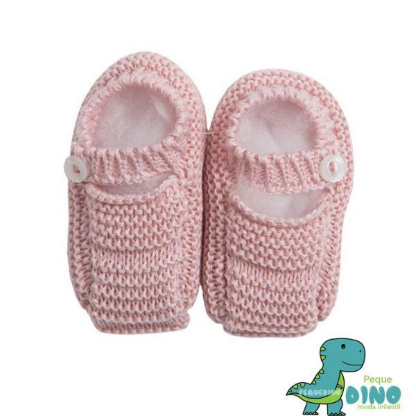 sandalia punto rosa